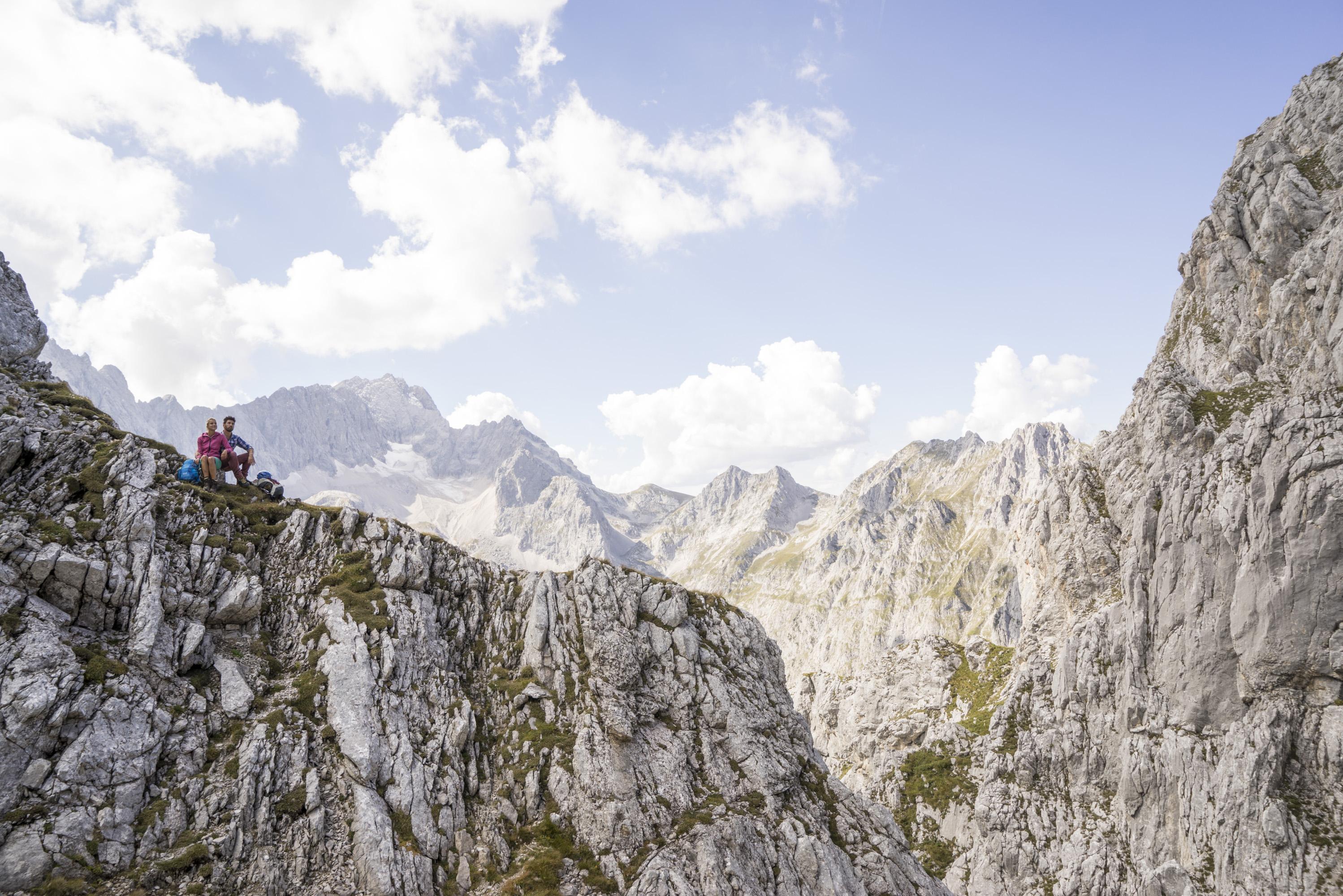 Wander Und Kletterausrüstung : Zugspitze wandern klettern
